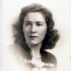 My mother, Frances A. Cate